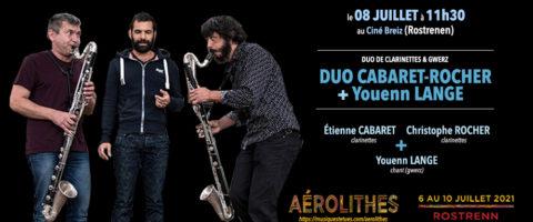 (Festival Aérolithes) Duo Cabaret-Rocher + Youenn Lange
