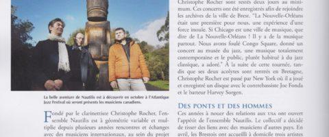 Article de la revue Armen sur le trio Carol