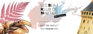 Beaj Klub : programmation Printemps 2020