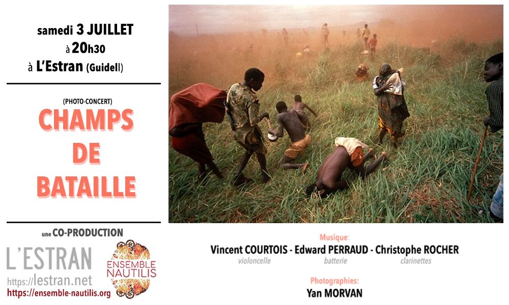 CRÉATION : Champs de Bataille (photo-concert)