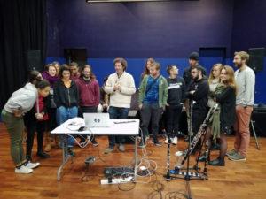 BRAIN SONGS #2 / Rencontre avec des étudiants